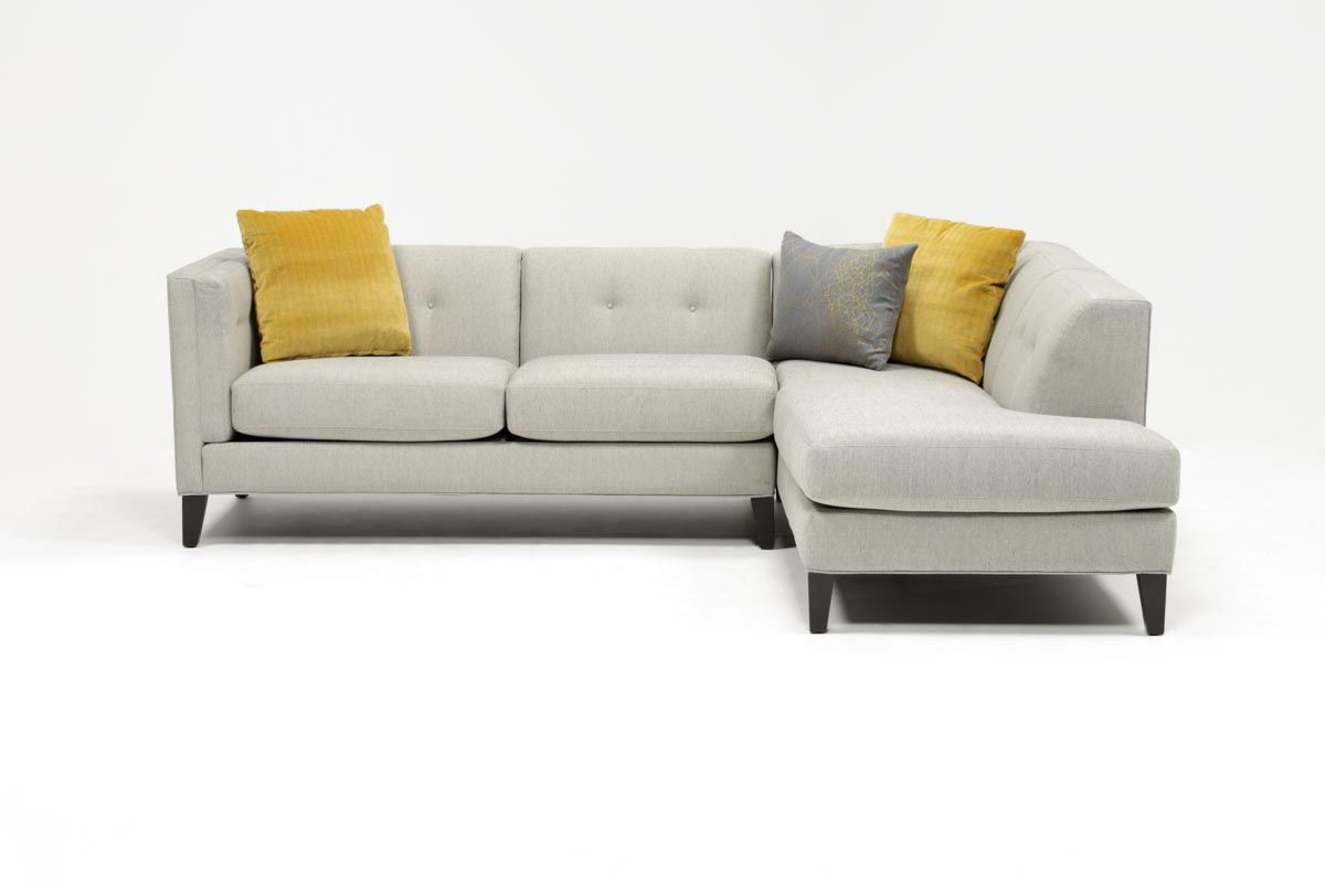 Avery Piece Sectionals With Raf Armless Chaise