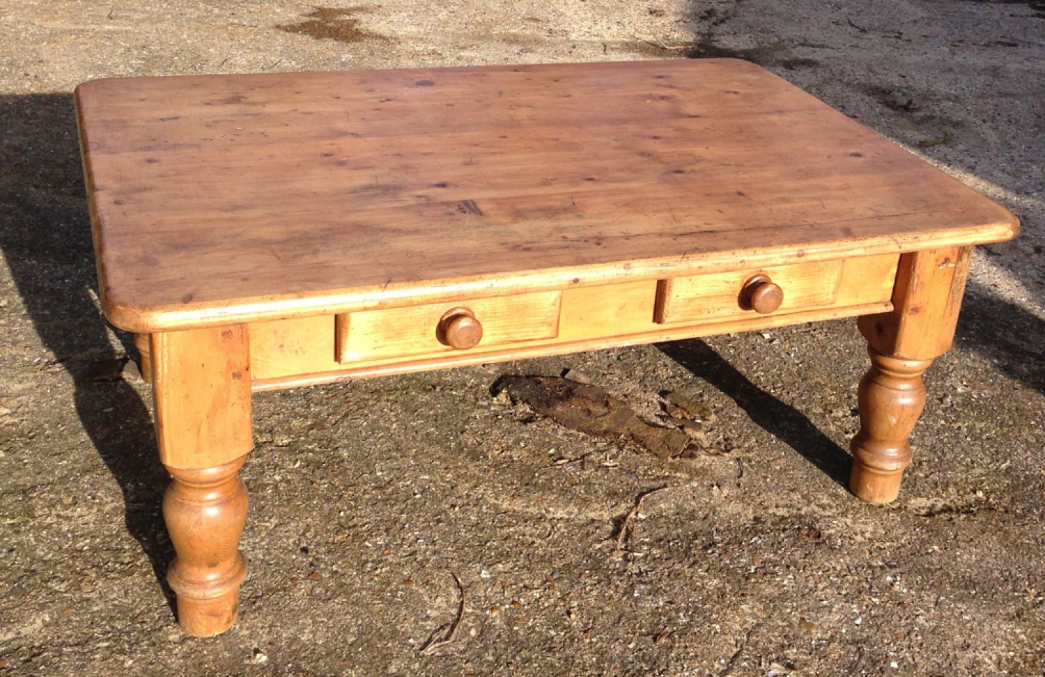 Antique Pine Coffee Tables
