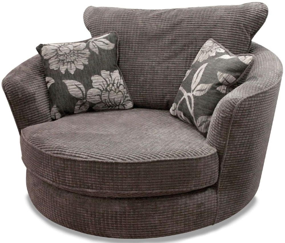 Charcoal Swivel Chairs