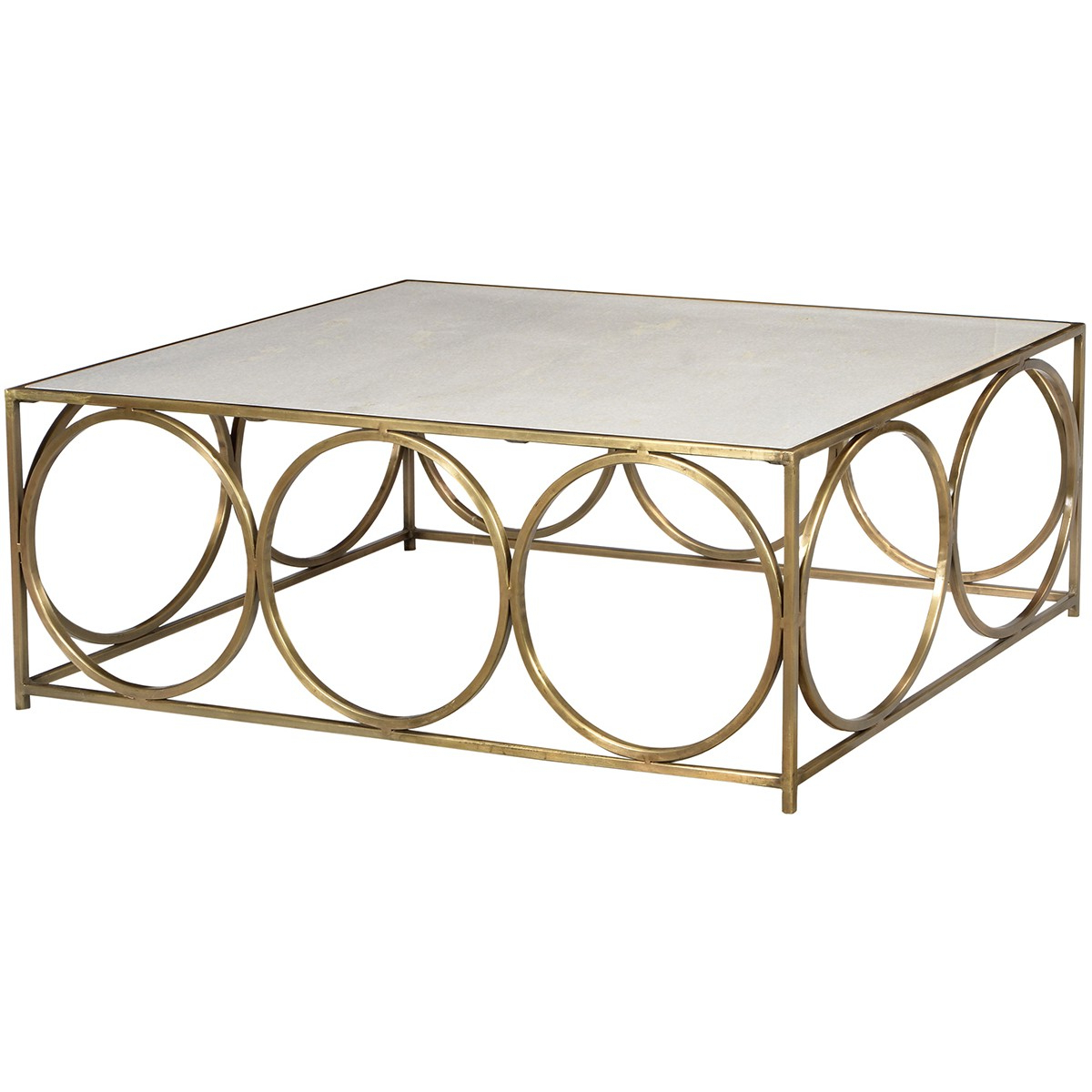 Iron Marble Coffee Tables