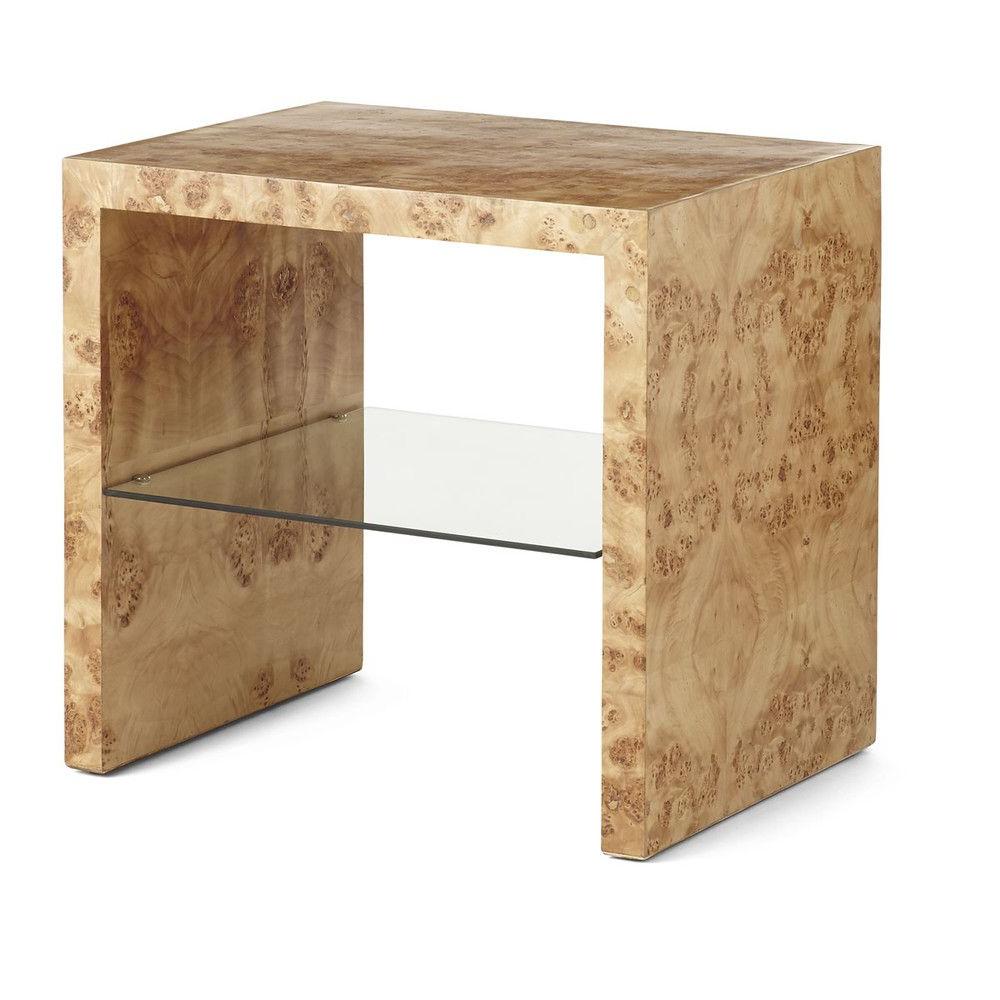 Oslo Burl Wood Veneer Coffee Tables