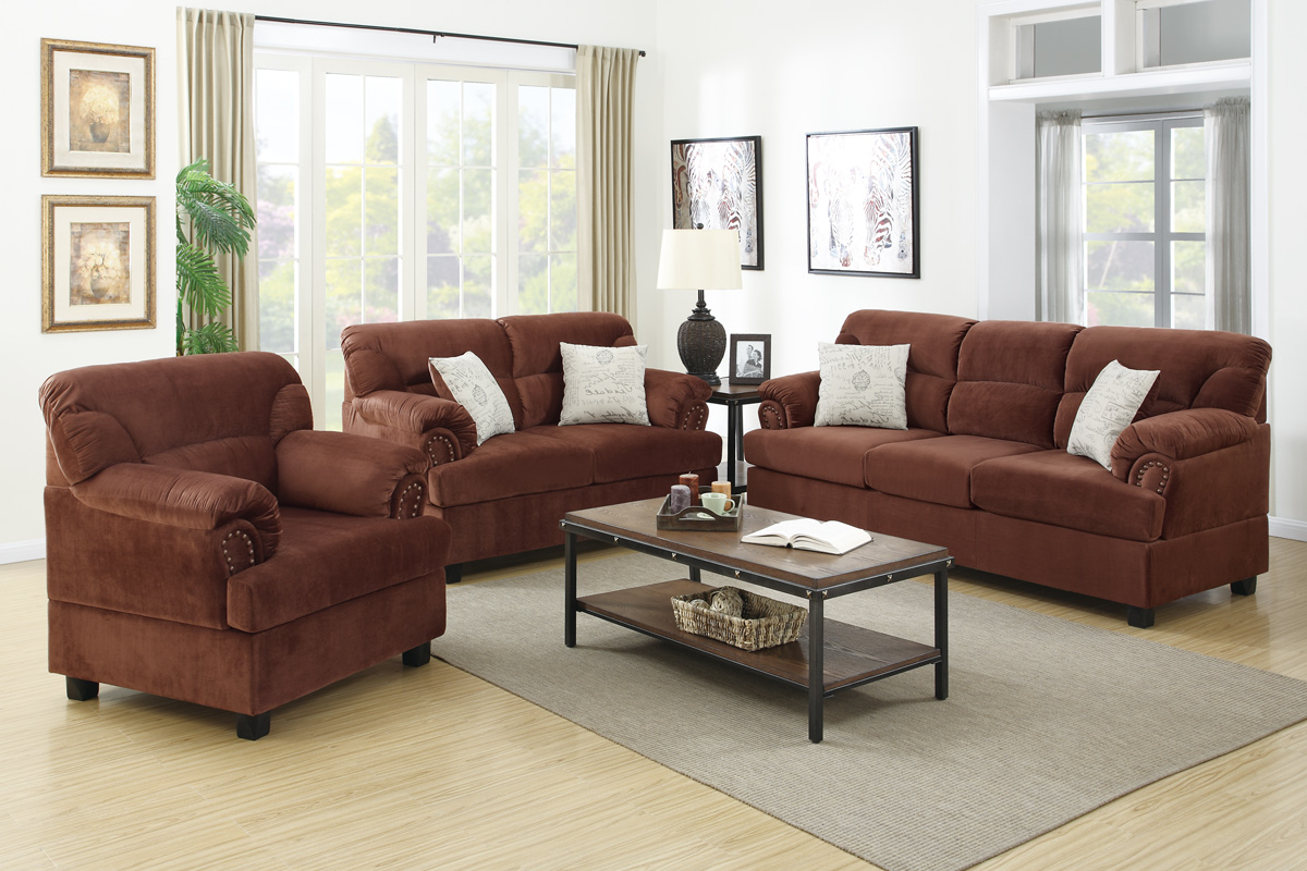 Sofa Loveseat And Chair Set