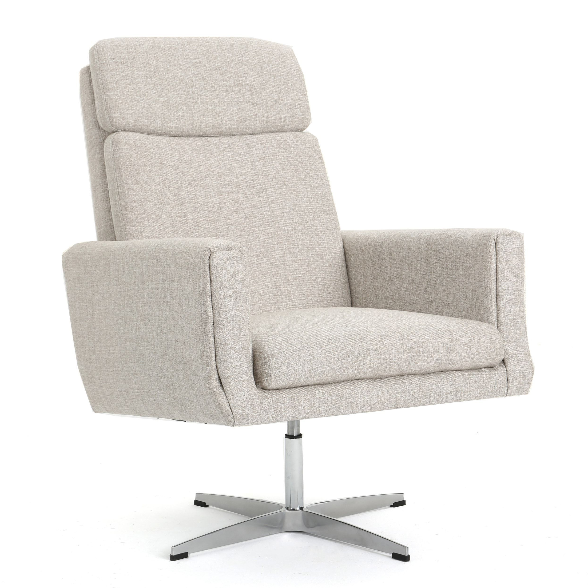 Harbor Grey Swivel Accent Chairs