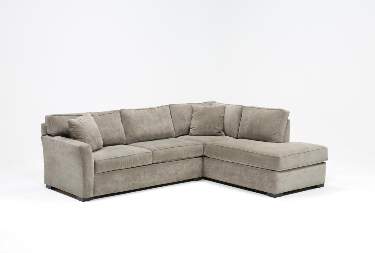 Aspen 2 Piece Sleeper Sectionals With Raf Chaise