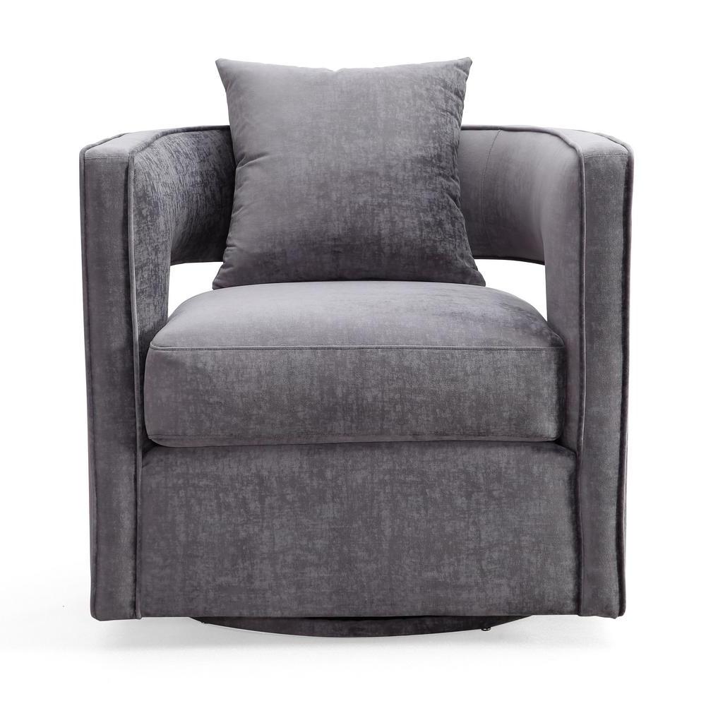 Grey Swivel Chairs