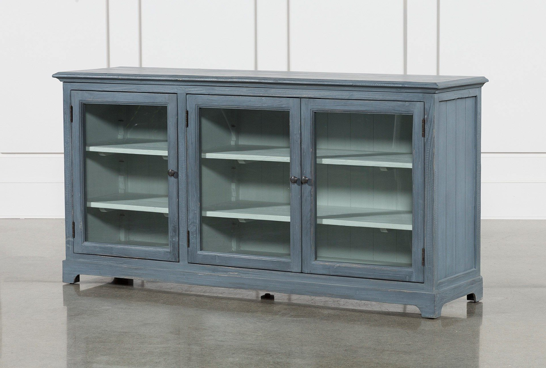 Blue Stone Light Rustic Black Sideboards