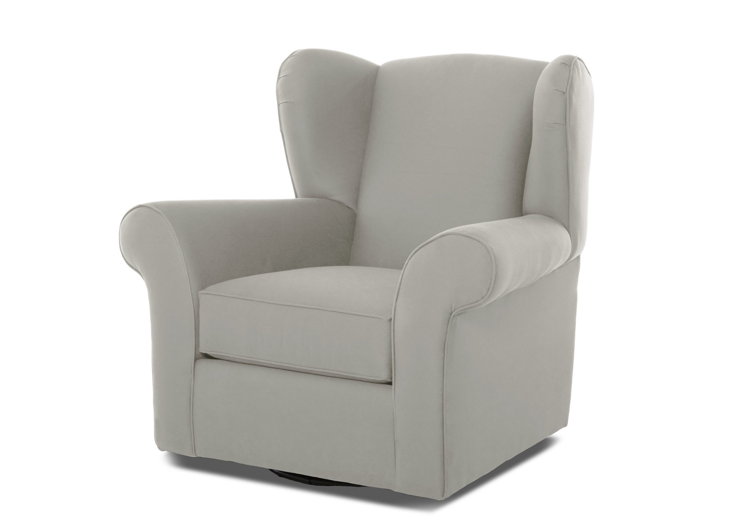Katrina Beige Swivel Glider Chairs