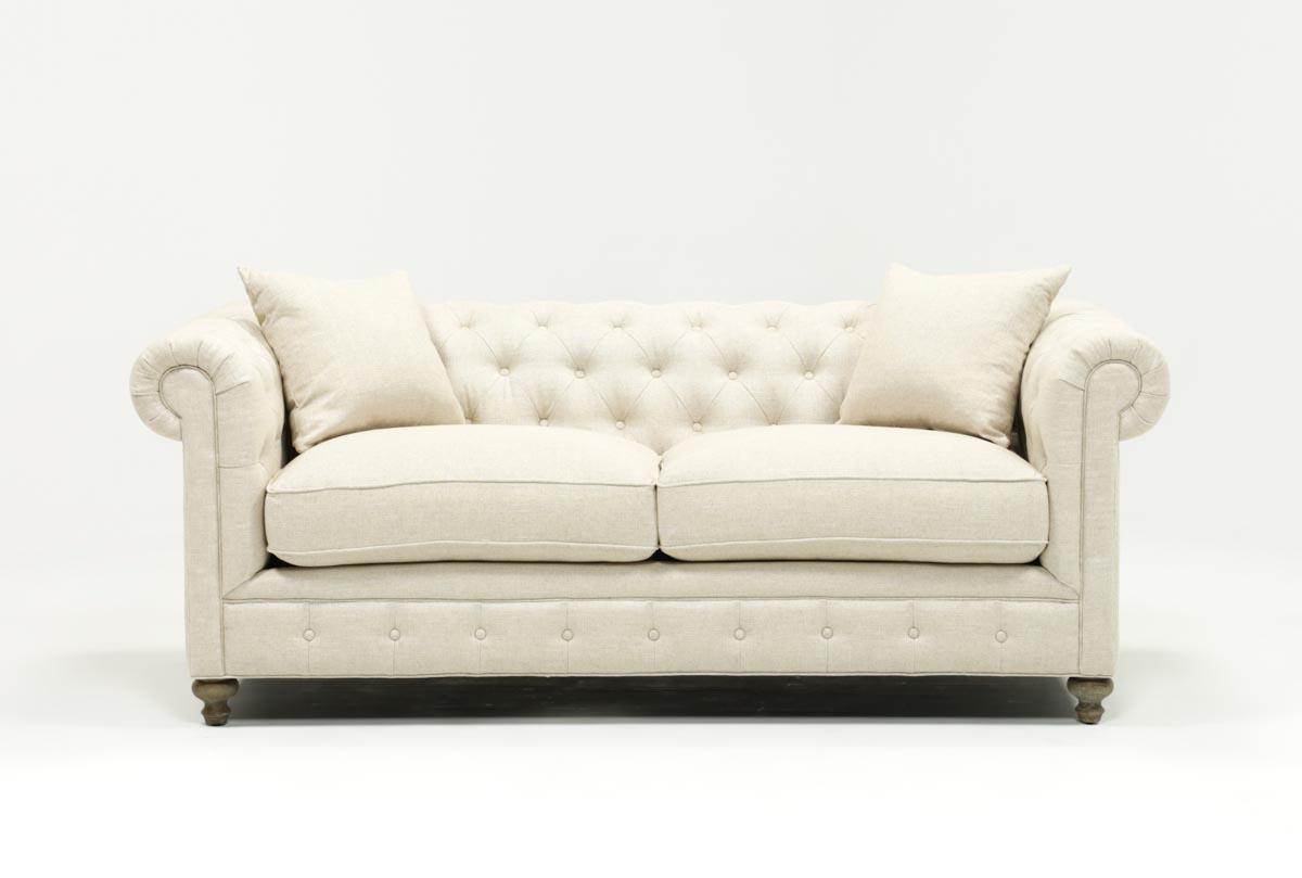 Mansfield Beige Linen Sofa Chairs