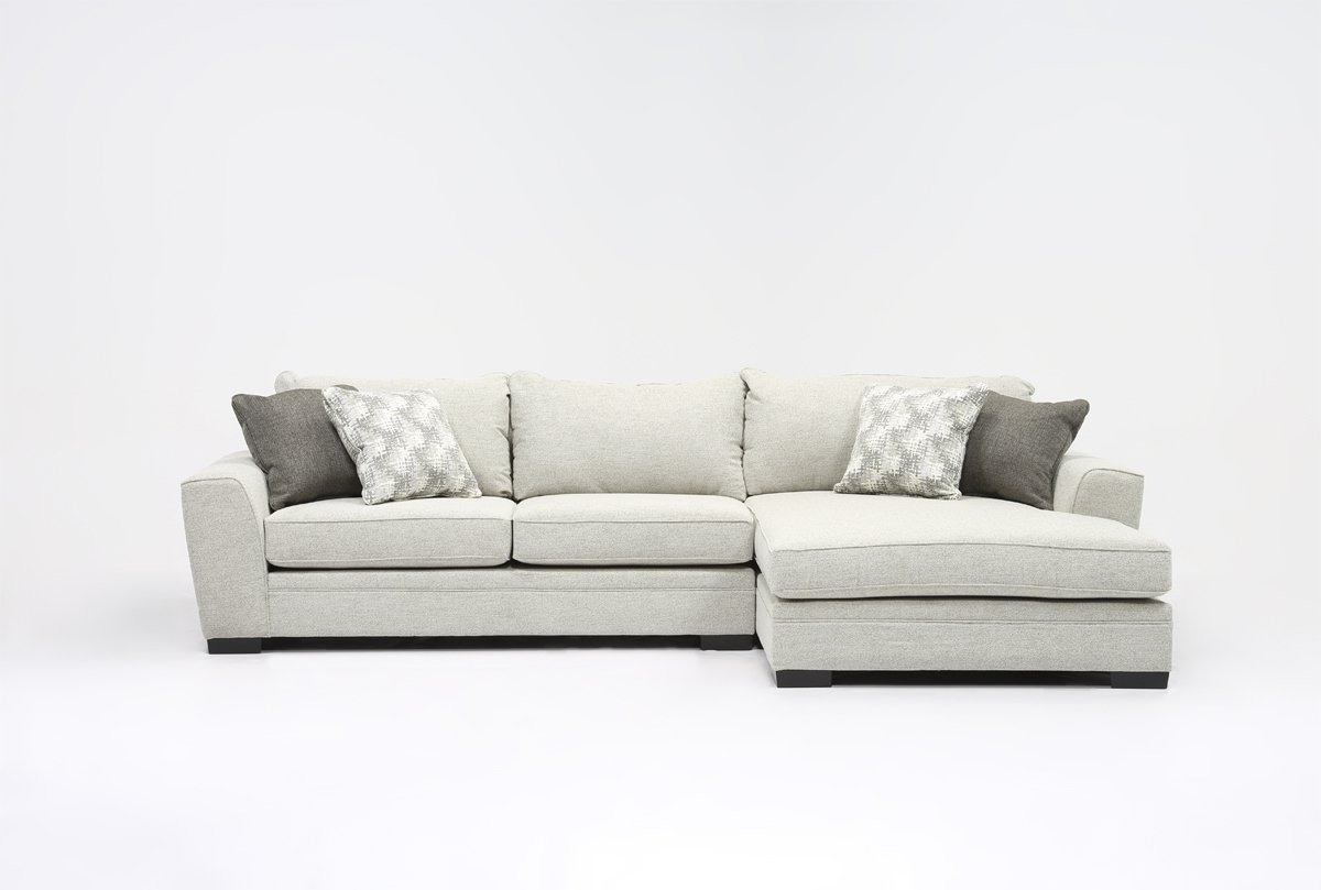 Delano 2 Piece Sectionals With Raf Oversized Chaise