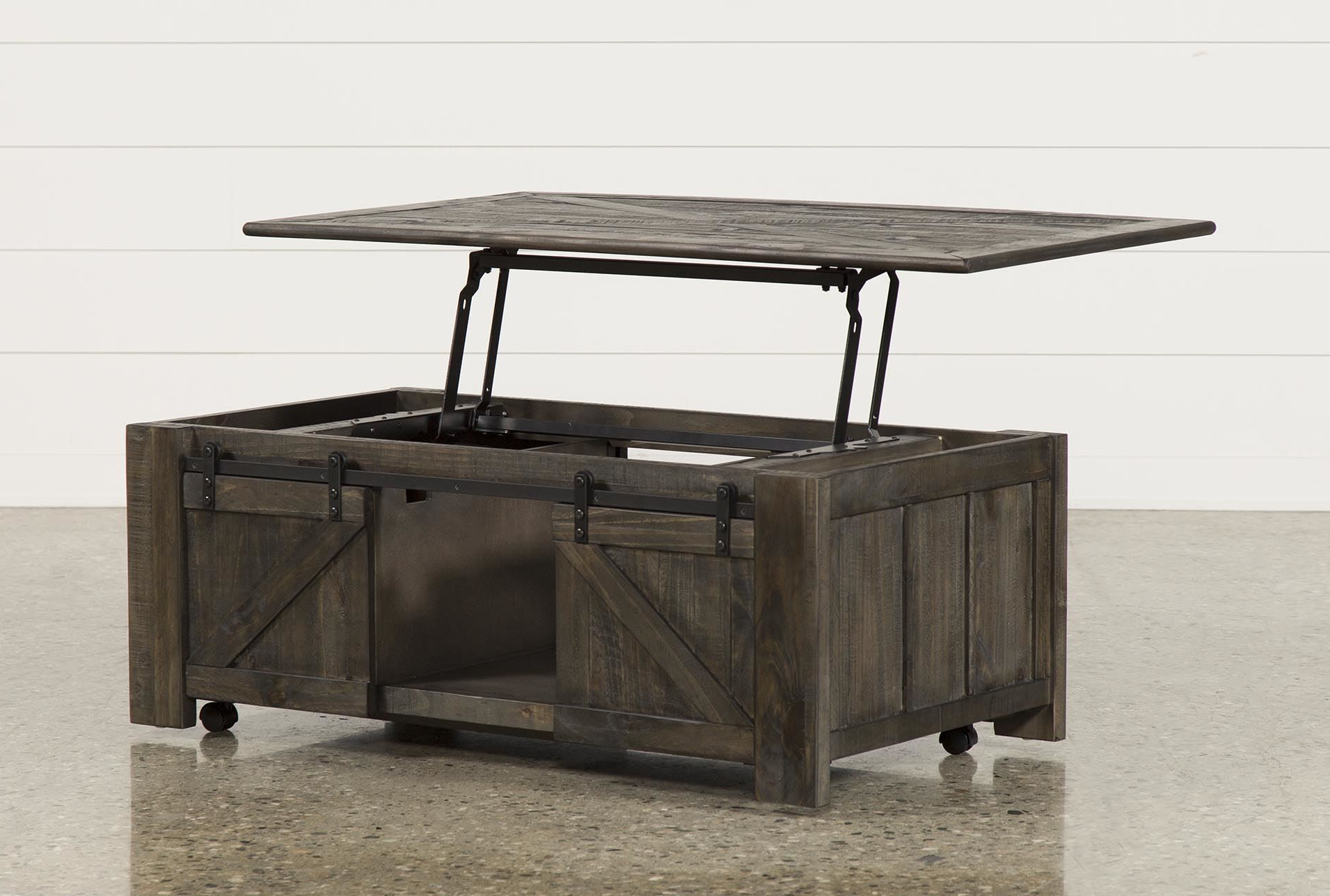 Grant Lift Top Cocktail Tables With Casters