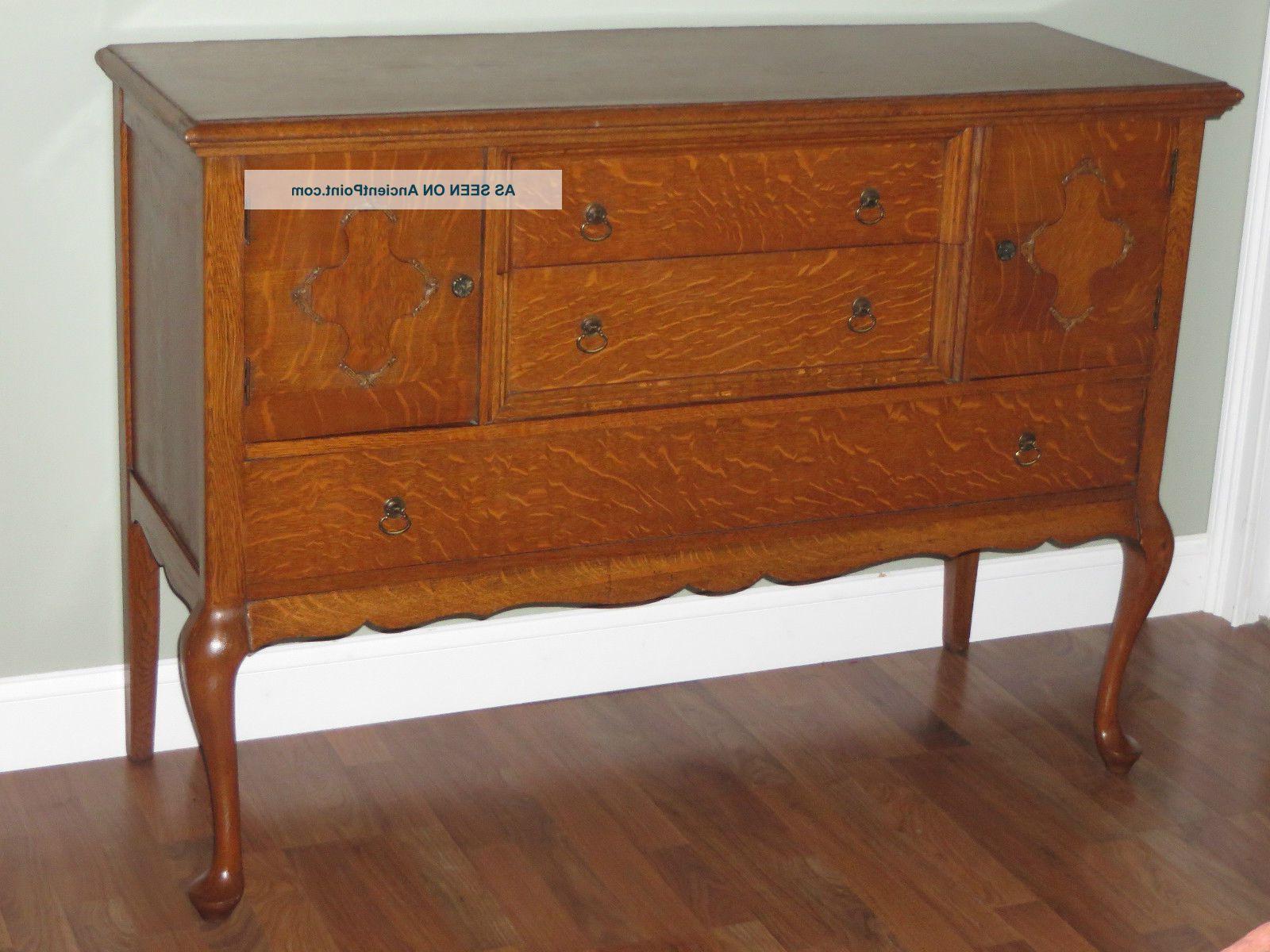 Vintage Brown Textured Sideboards