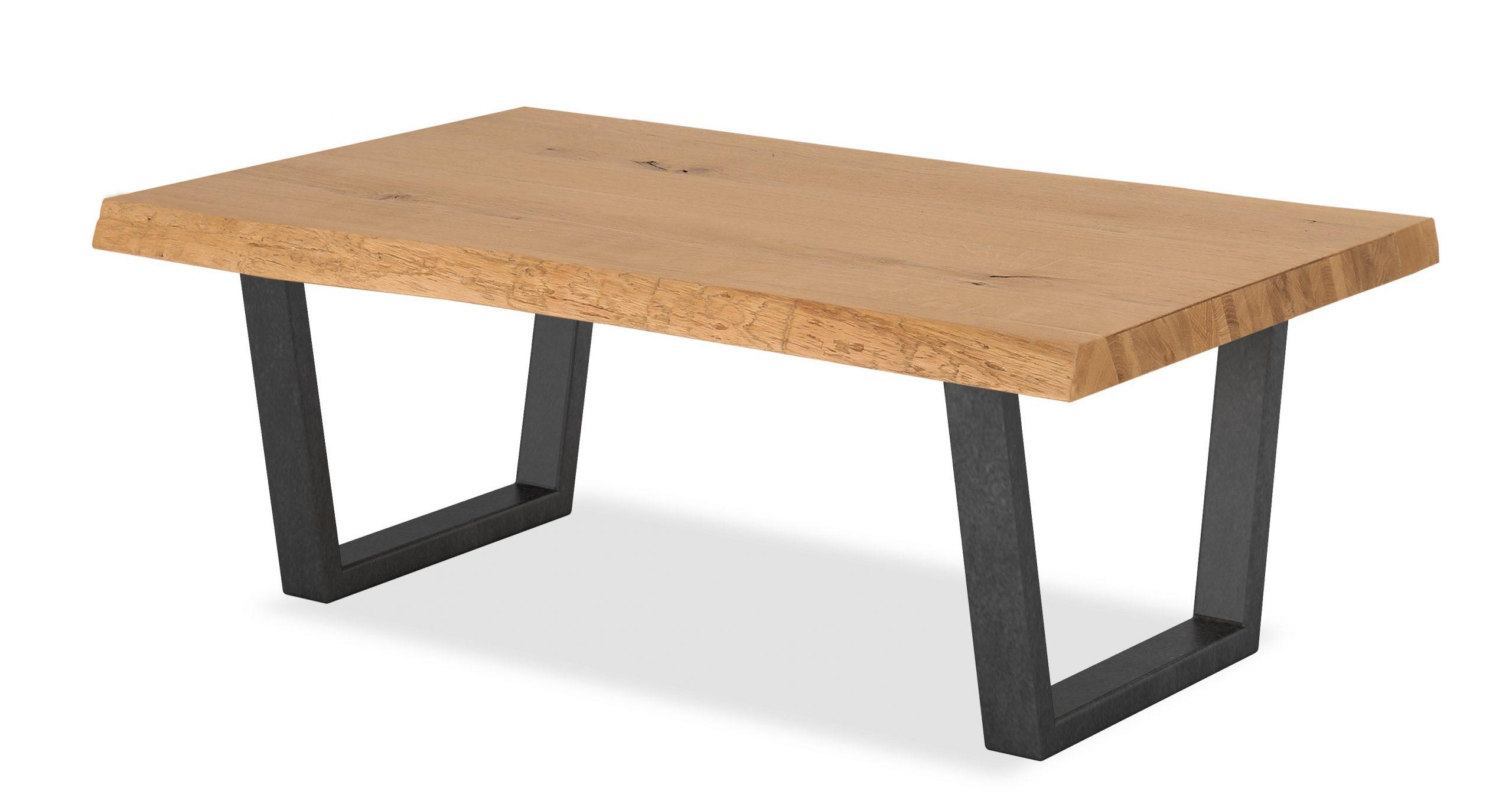 Waxed Metal Coffee Tables