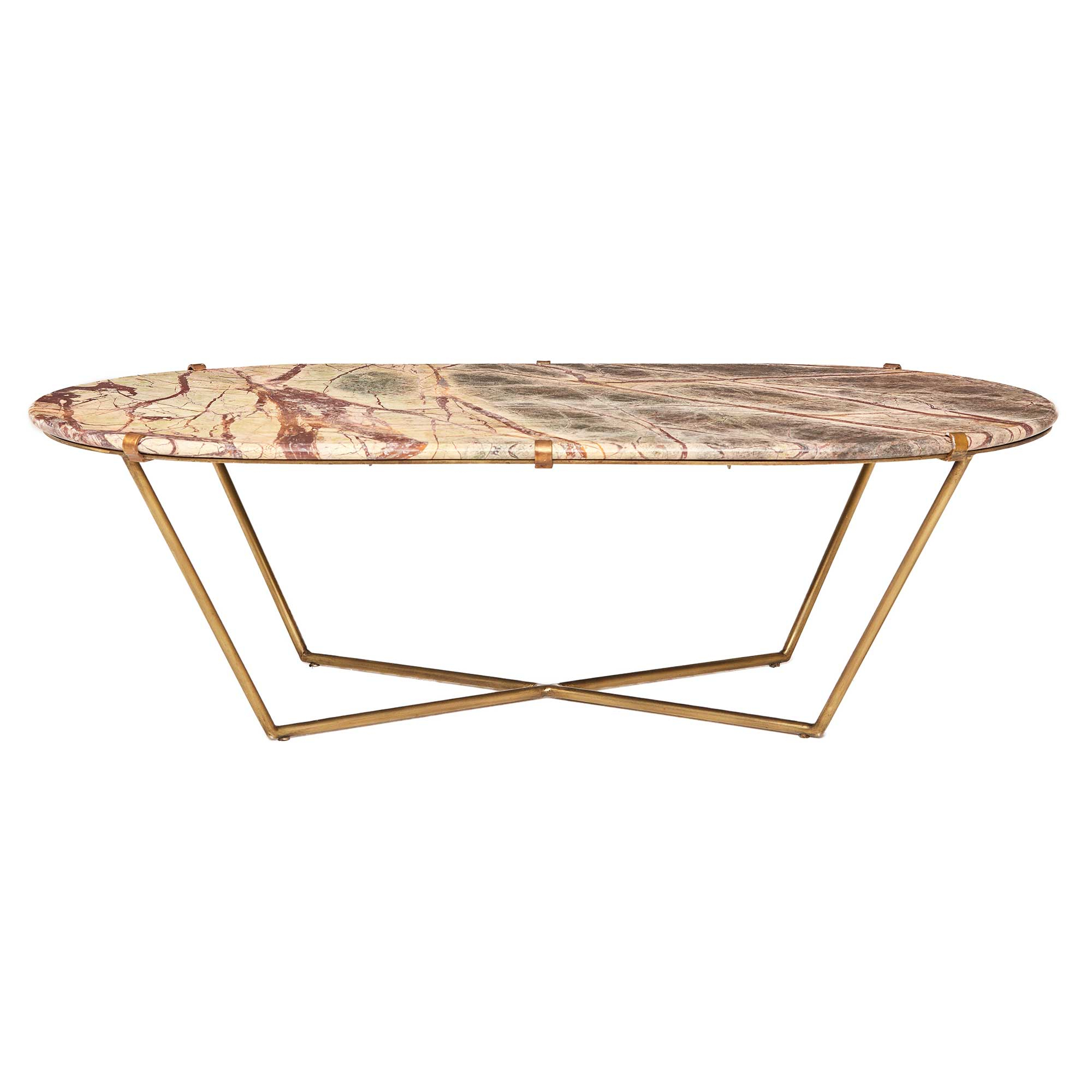 Parker Oval Marble Coffee Tables
