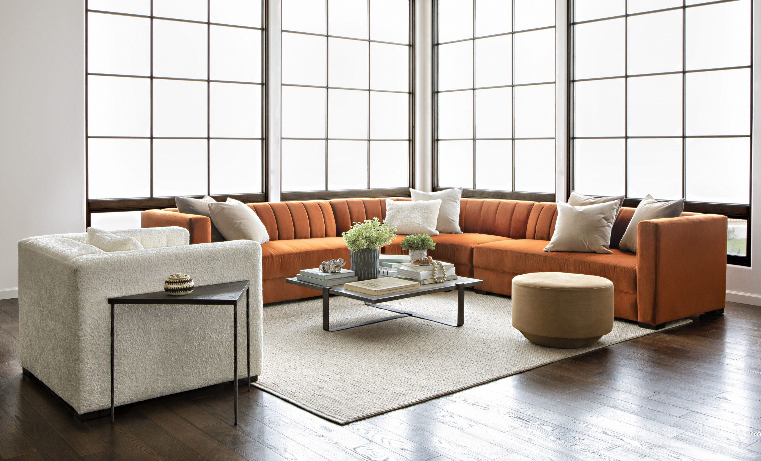 Whitley 3 Piece Sectionals By Nate Berkus And Jeremiah Brent