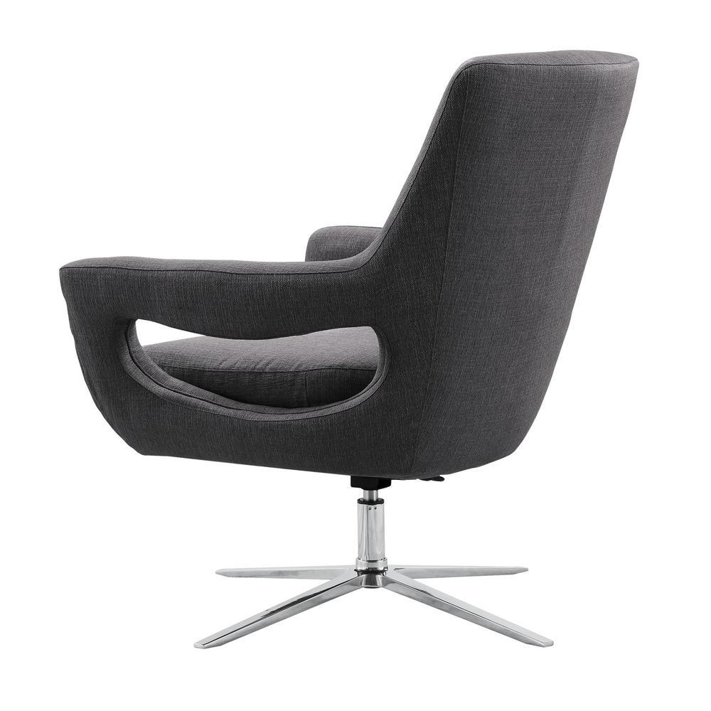 Loft Black Swivel Accent Chairs