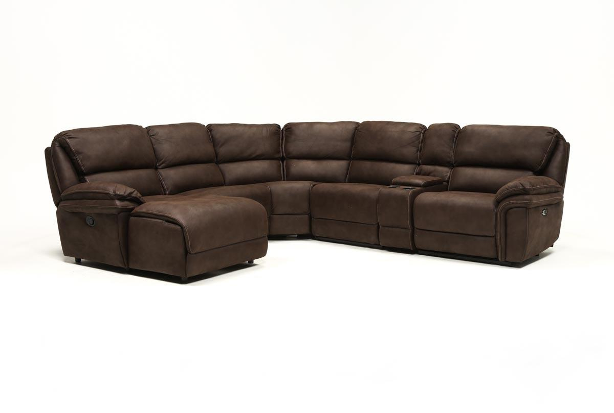 Norfolk Chocolate 6 Piece Sectionals