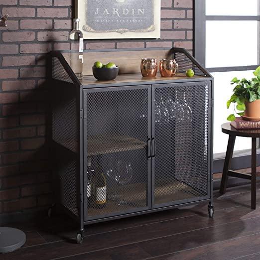 Amazon.com - Walker Edison Furniture Company Industrial Wood and .