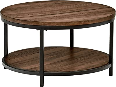 Amazon.com: Amazon Brand – Stone & Beam Larson Industrial Wood .