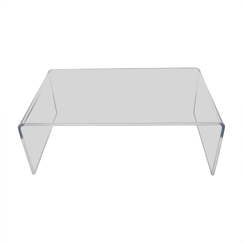 Peekaboo Acrylic Coffee Tables