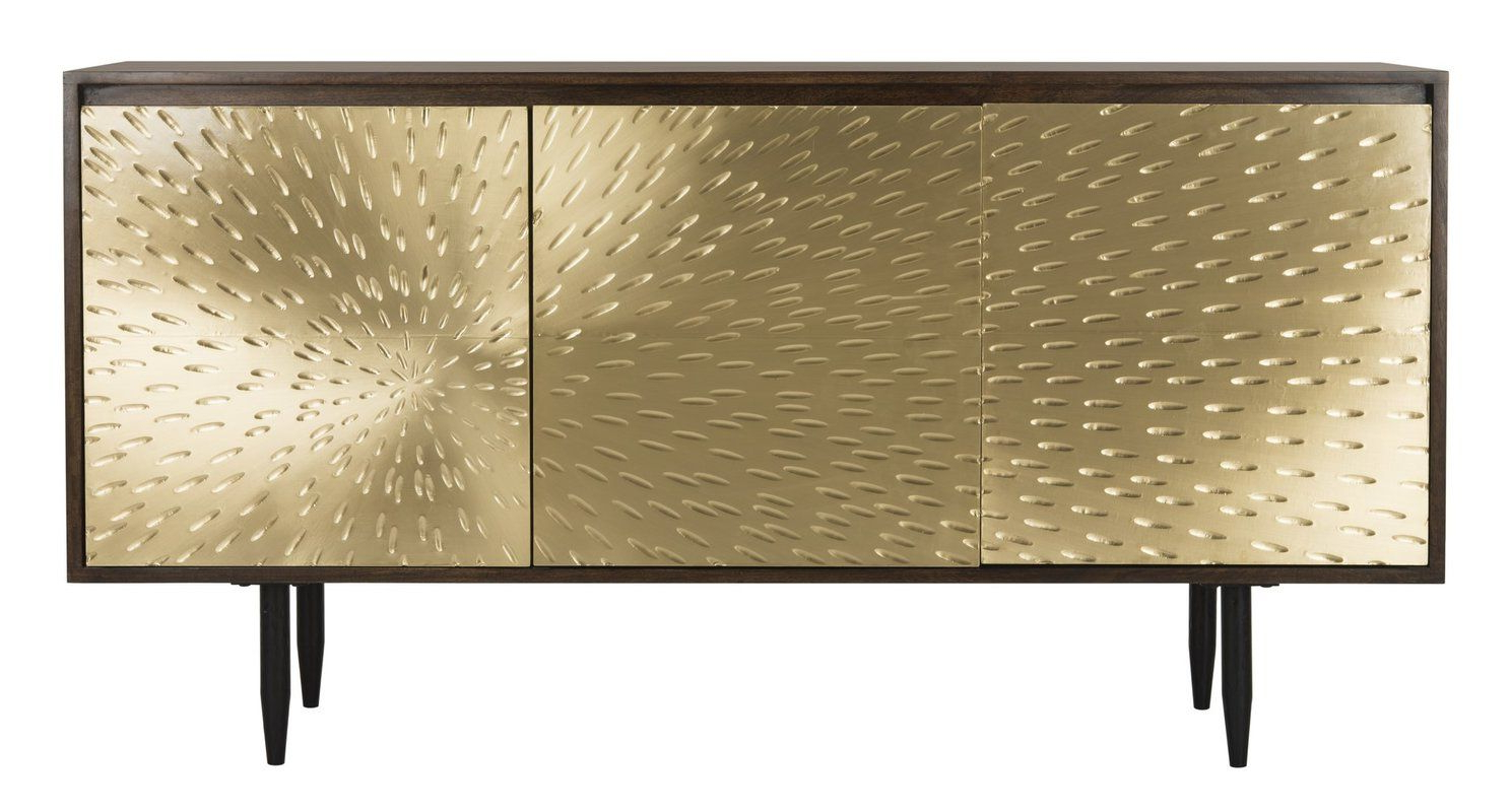 Gunmetal Perforated Brass Sideboards