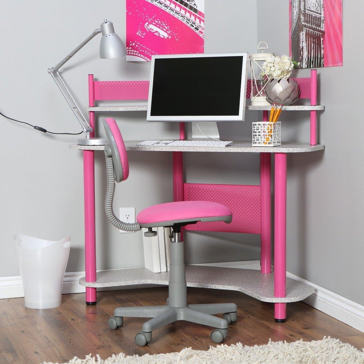 Pink Computer Desks