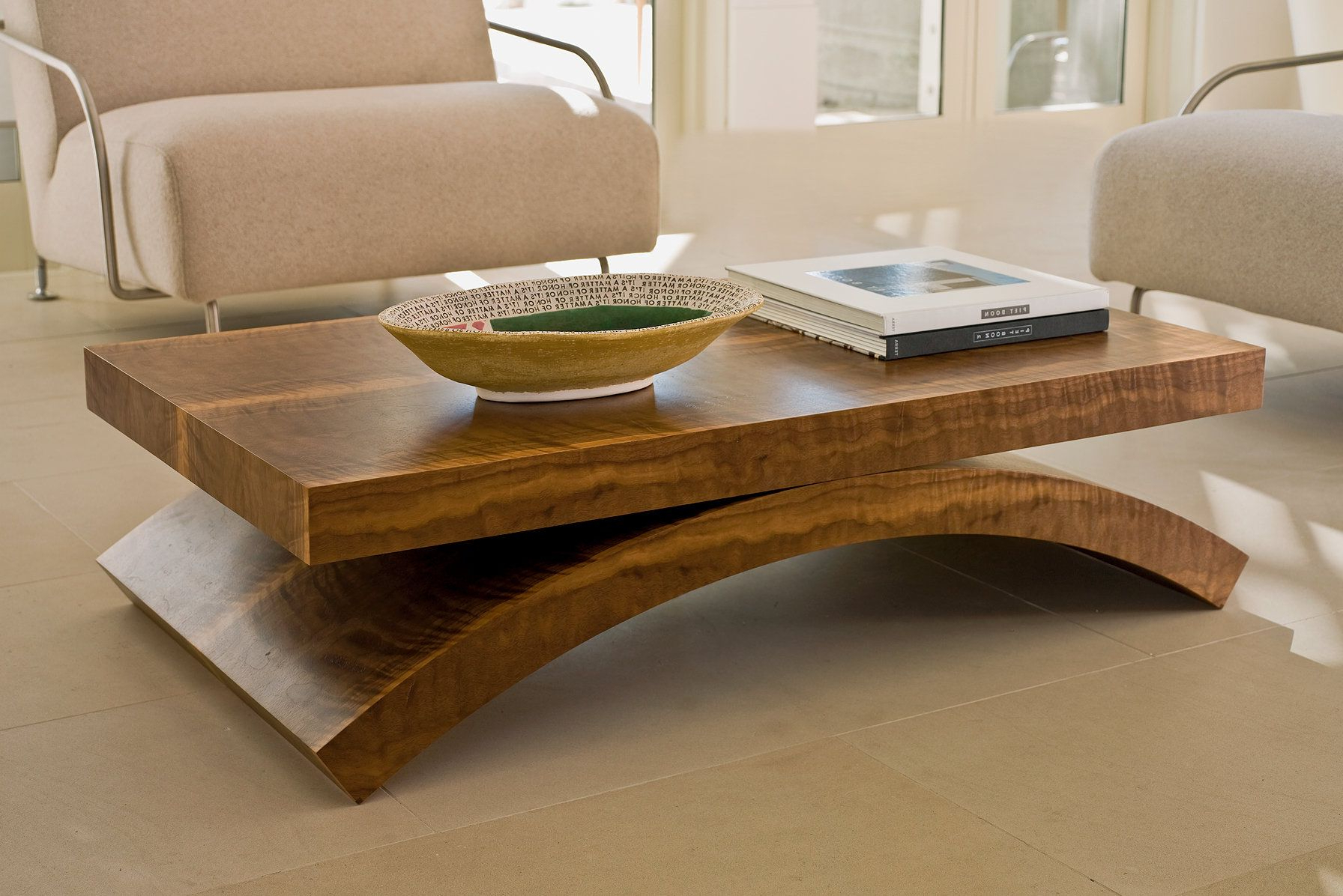 Contemporary Curves Coffee Tables
