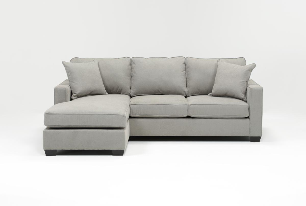 Egan Ii Cement Sofa Sectionals With Reversible Chaise
