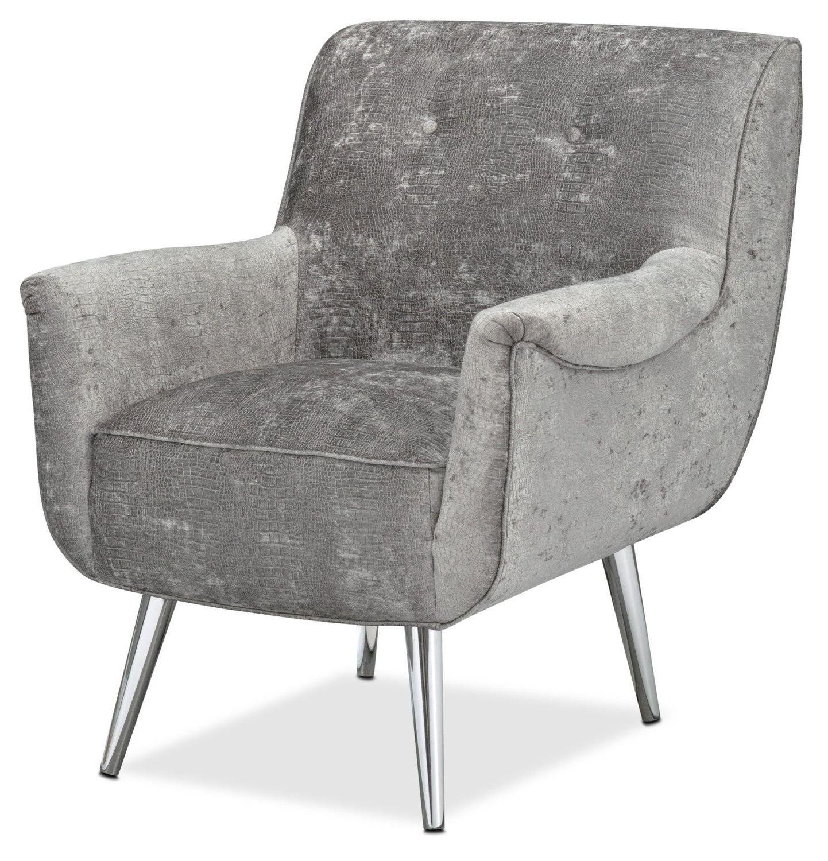 Loft Smokey Swivel Accent Chairs