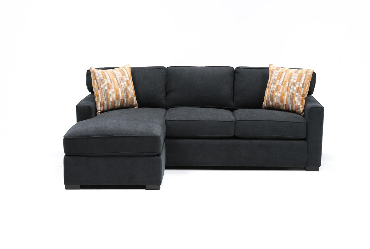 Taren Reversible Sofa Chaise Sleeper Sectionals With Storage Ottoman
