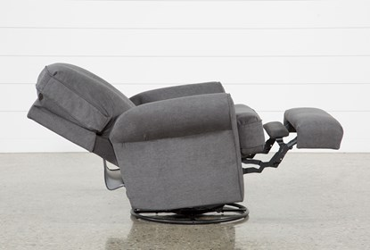 Abbey Swivel Glider Recliner | Living Spac