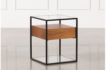 Abby End Table | End tables, Coffee table, Living tab
