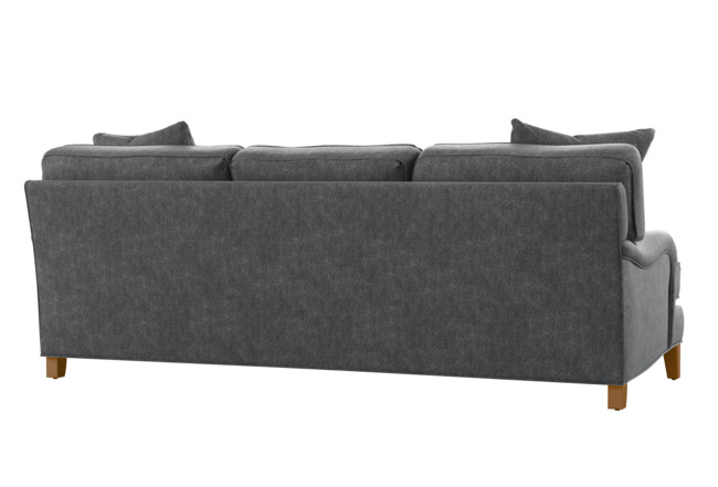 Abigail II Grey Sofa | Living Spac