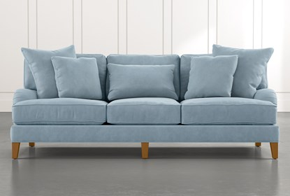 Abigail II Blue Sofa | Living Spac