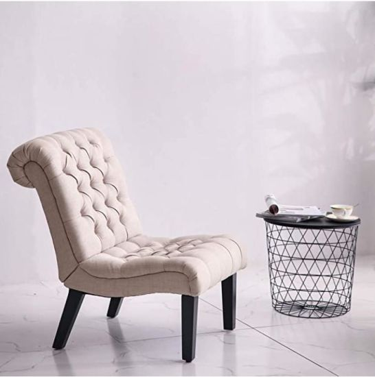 China Living Room Accent Chair Upholstered Modern Tufted Button .