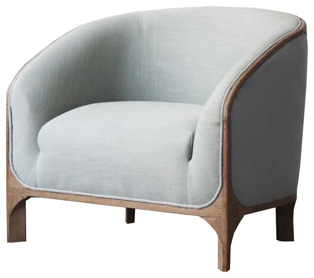 Burnham Home Designs Griffey Sofa Chair - Transitional - Armchairs .