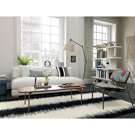 adam coffee table in accent tables | CB2 | Living room divider .