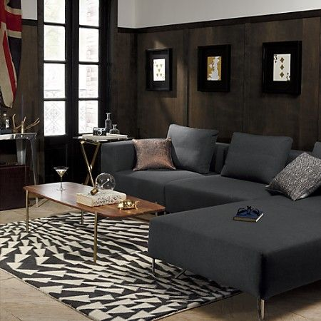 adam coffee table - cb2 | Small living room, Coffee table, Living .