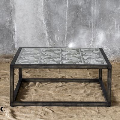 Uttermost Baruti Coffee Table | Coffee table, Industrial coffee .