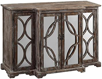 Amazon.com - Crestview Collection Galloway Rustic Wood and Mirror .