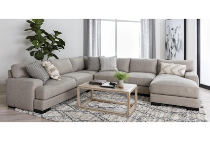 Aidan III 4 Piece Sectional With Right Arm Facing Chaise | Living .