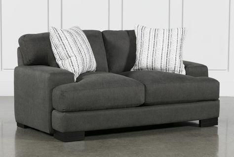 Aidan III Loveseat Sofa - Grey - $650 in 2020 | Love seat, Cool .