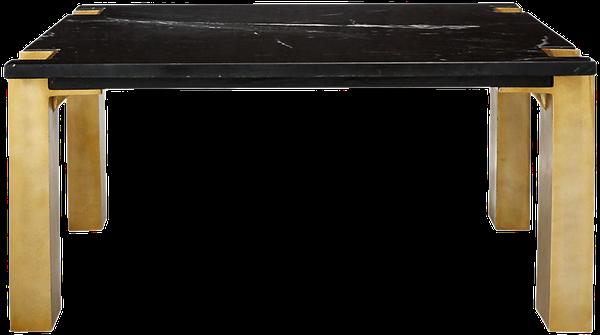 alcide square marble coffee table | Decori