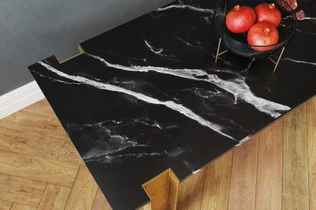 Alcide Rectangular Marble Coffee Tables + 3D Model (Free) | Salar