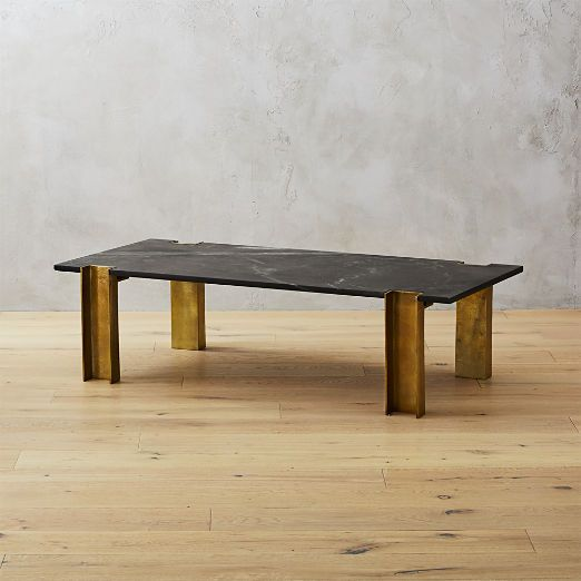 Alcide Rectangular Marble Coffee Table | Marble coffee table .