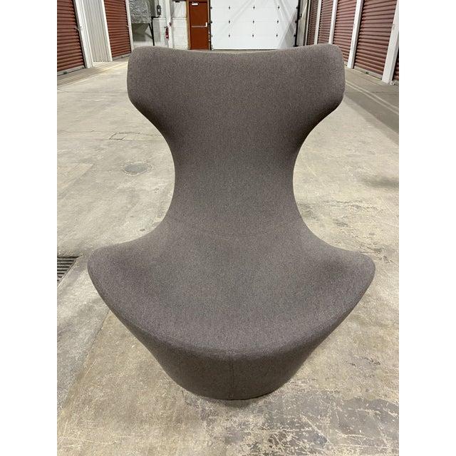 B & B Italia Grande Papilio Swivel Chair Designed by Naoto .