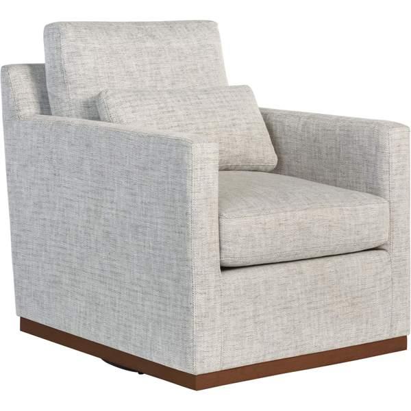 Denton Swivel Chair, Peppered Slate – High Fashion Ho