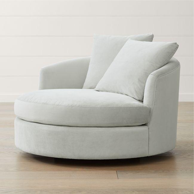 Tillie Grande Swivel Chair in 2020 | Swivel chair, Chair, Living .