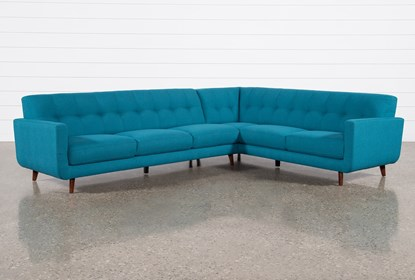 Allie Jade 2 Piece Sectional With Left Arm Facing Sofa | Living Spac