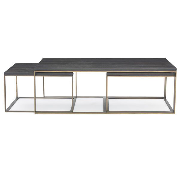 ALLURE NESTING COCKTAIL TABLE, $2,455 MGBW | Nesting cocktail .