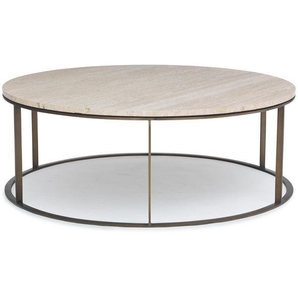 Mitchell Gold + Bob Williams Allure Round Cocktail Table ($1,756 .